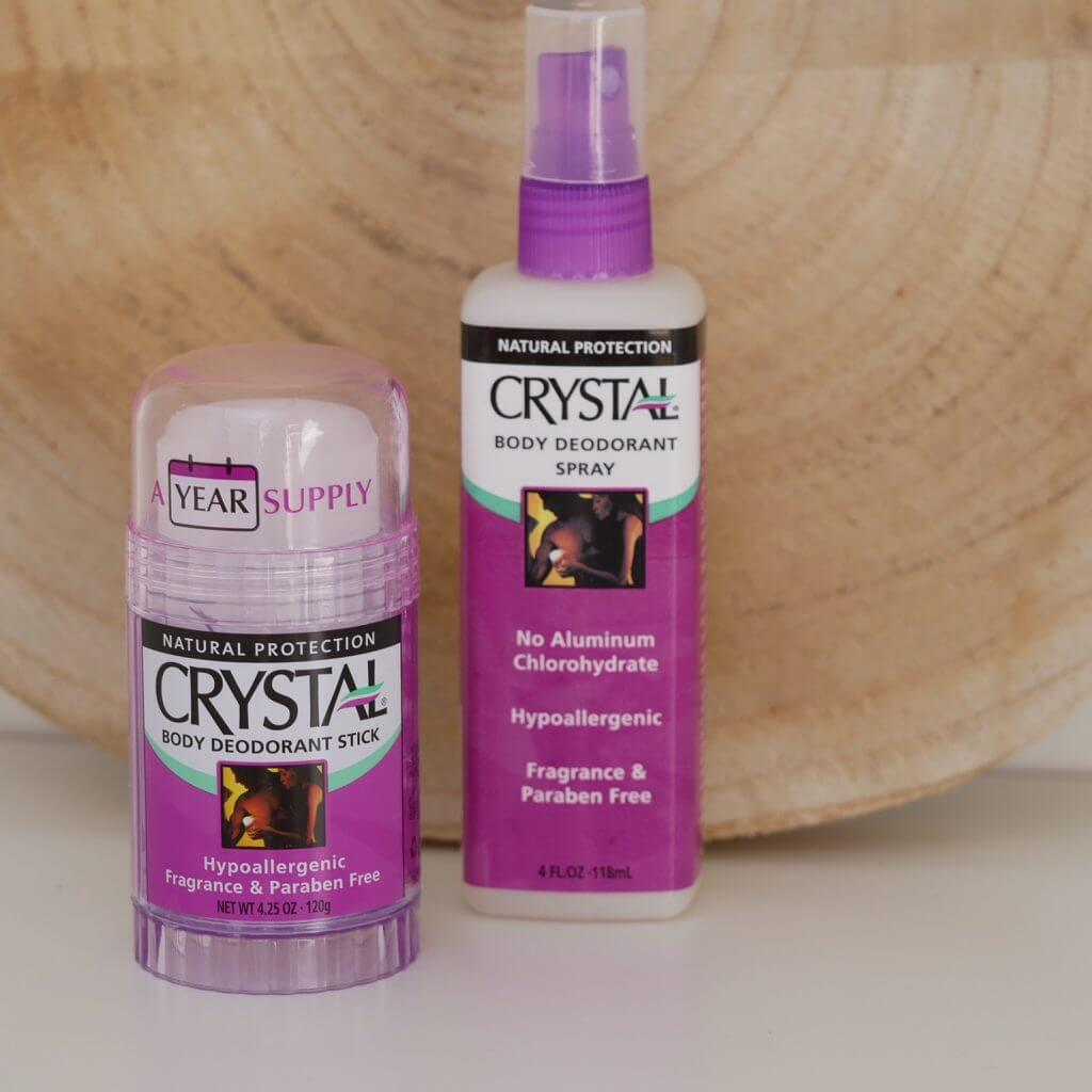 Crystal Body Deodorant Stick en Spray