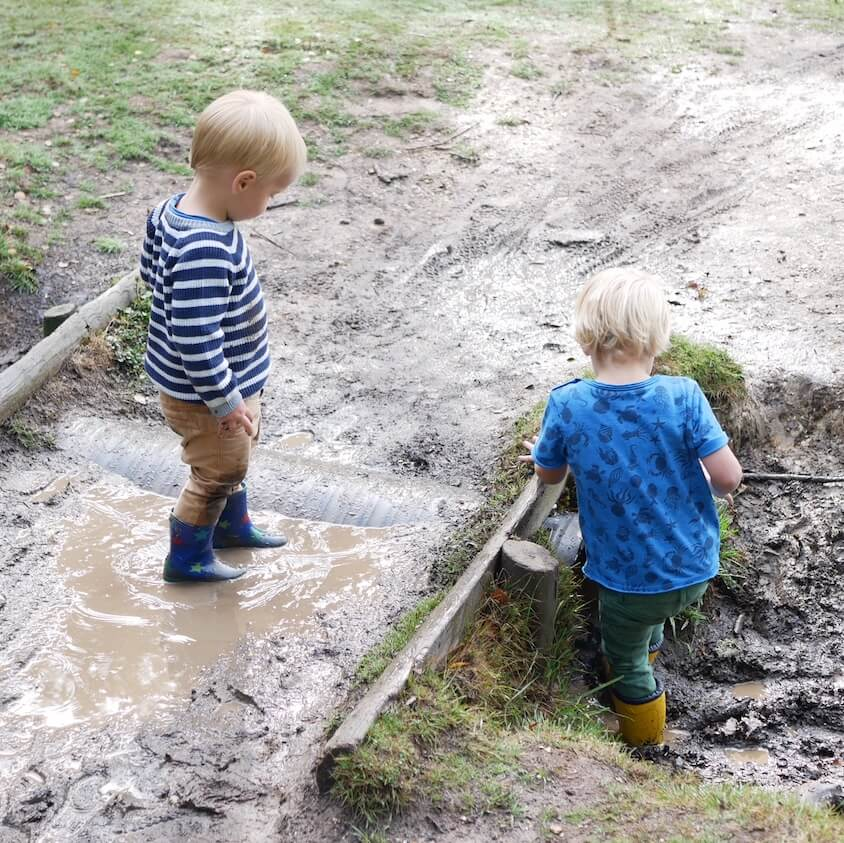 Muddy Puddle playtime