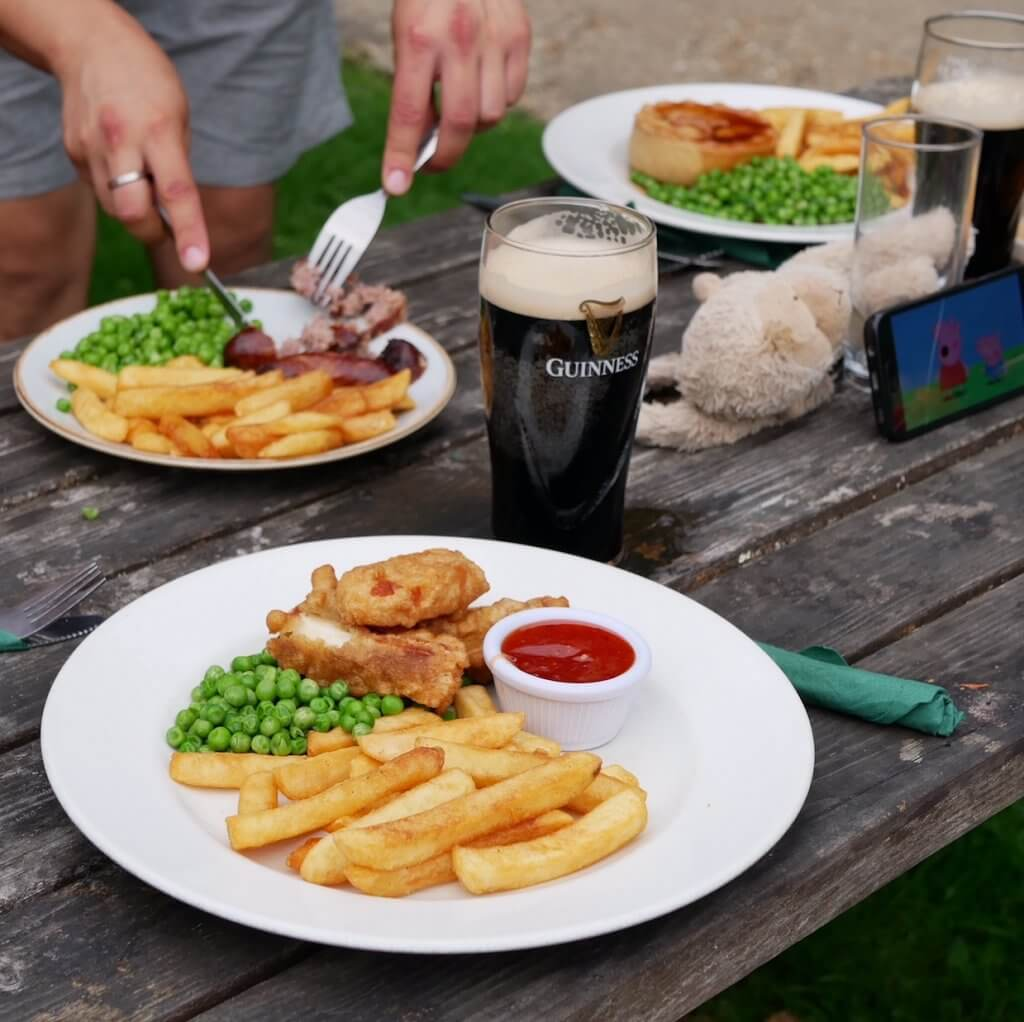 Real Pub meal